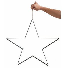 Stoer Metaal ijzeren ster