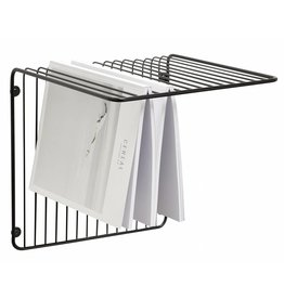 Hübsch wall shelf, black