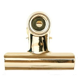 House Doctor klem, Office clip, 85 mm, goud