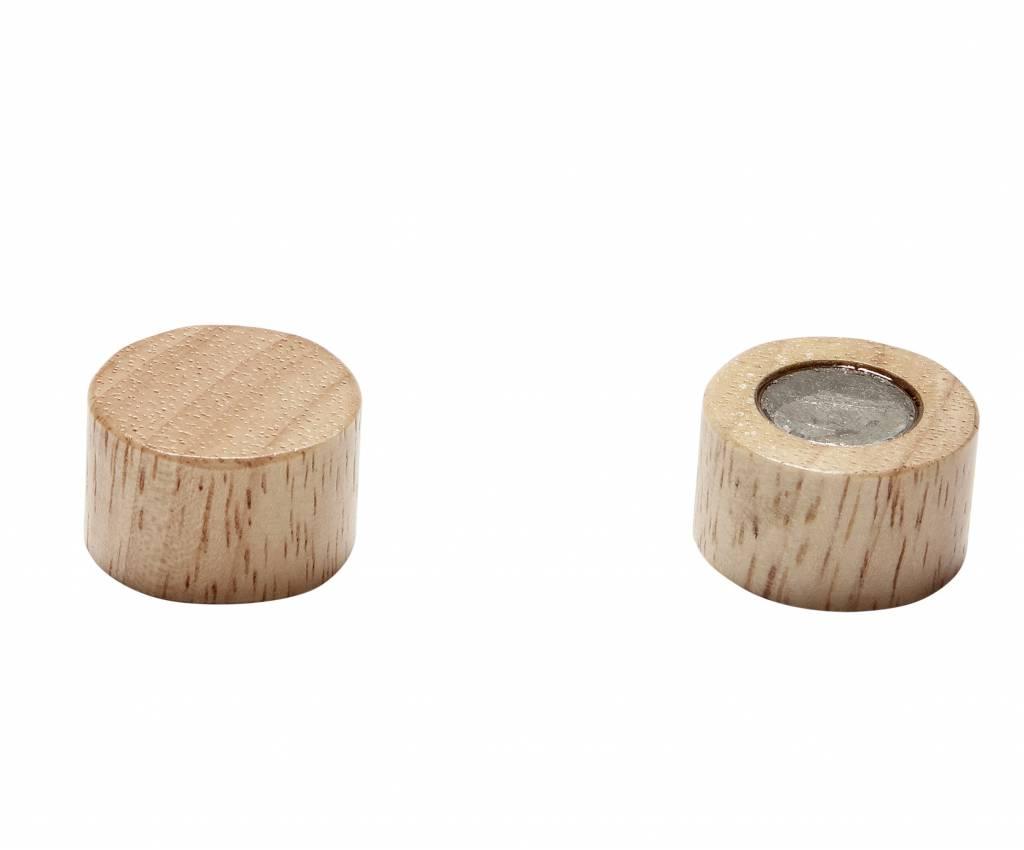 Hübsch magneetjes Oak, eiken