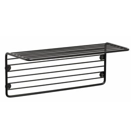 Hübsch wall shelf wire, black