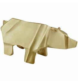 beeldje origami ijsbeer