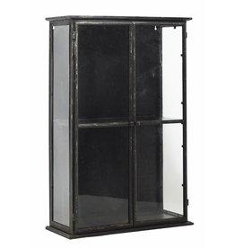 Nordal vitrinekastje, zwart
