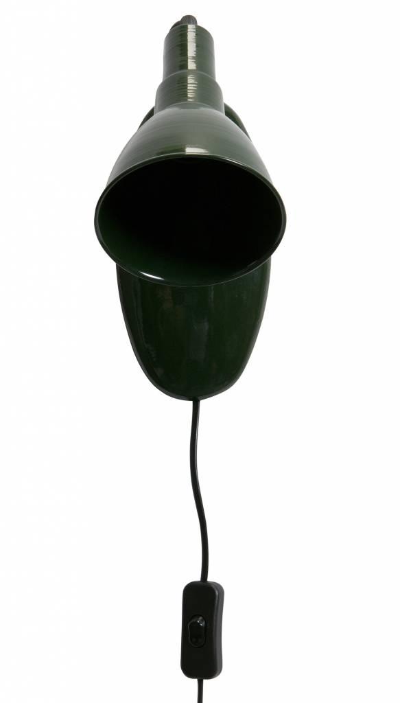BePure wall light Masterpiece, green