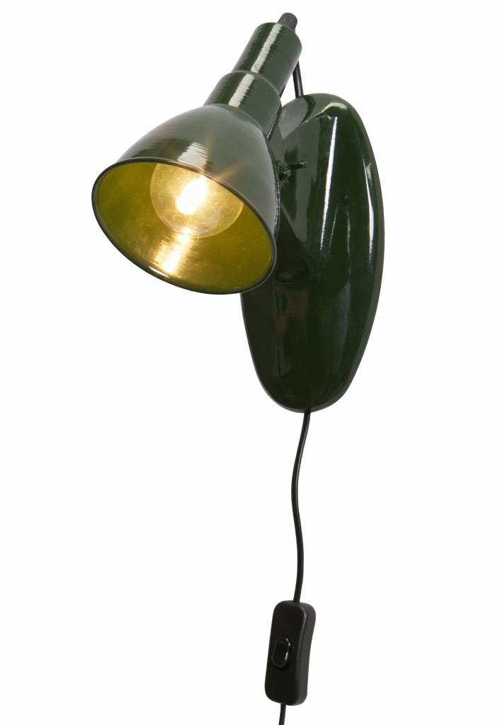 BePure wandlampje Masterpiece, groen