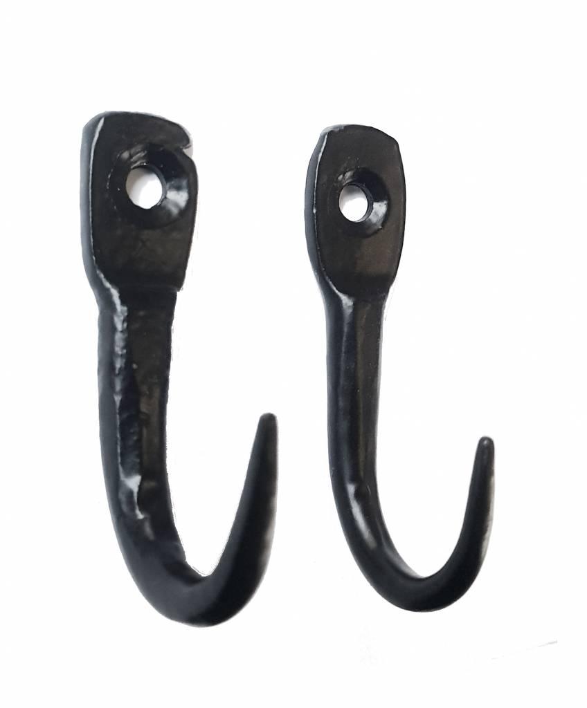 - hooks, black