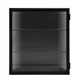 Nordal cupboard Groovy met glas