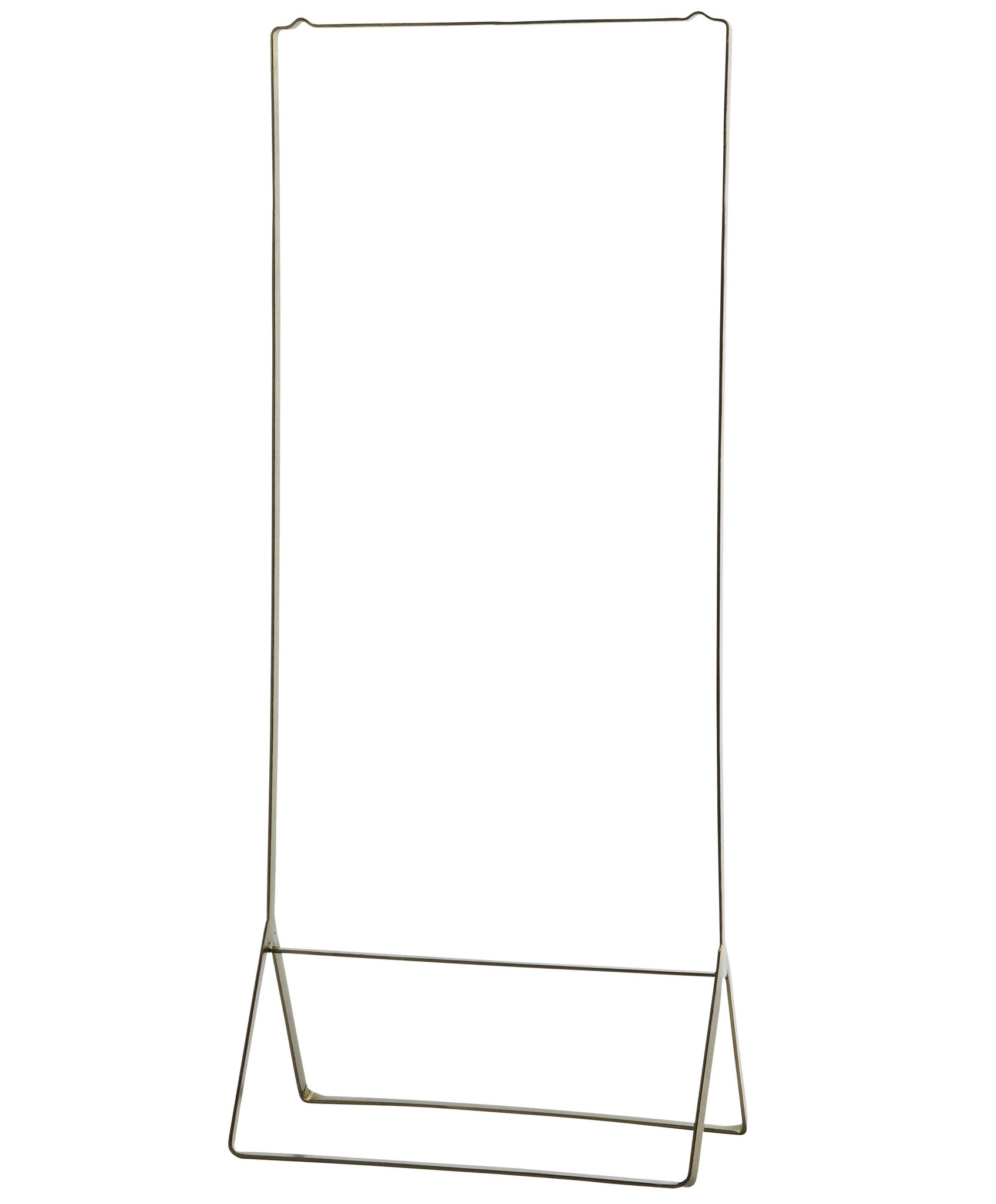 Madam Stoltz clothes rack, golden