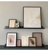 Stoer Metaal iron wall shelf, various sizes
