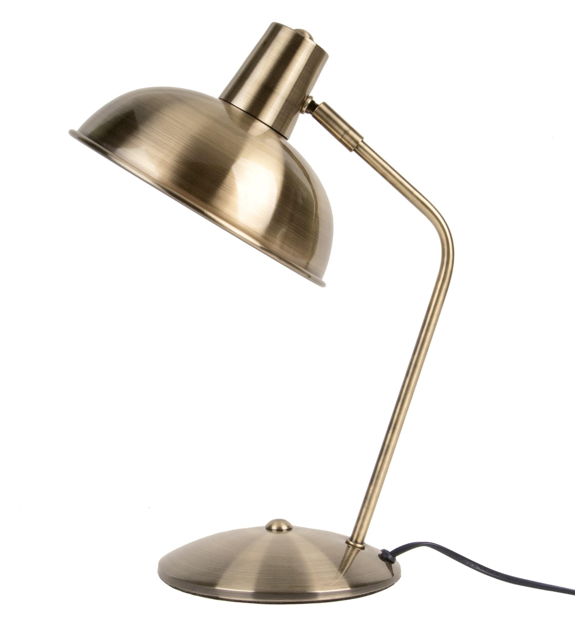 Leitmotiv tafellamp Hood, goud