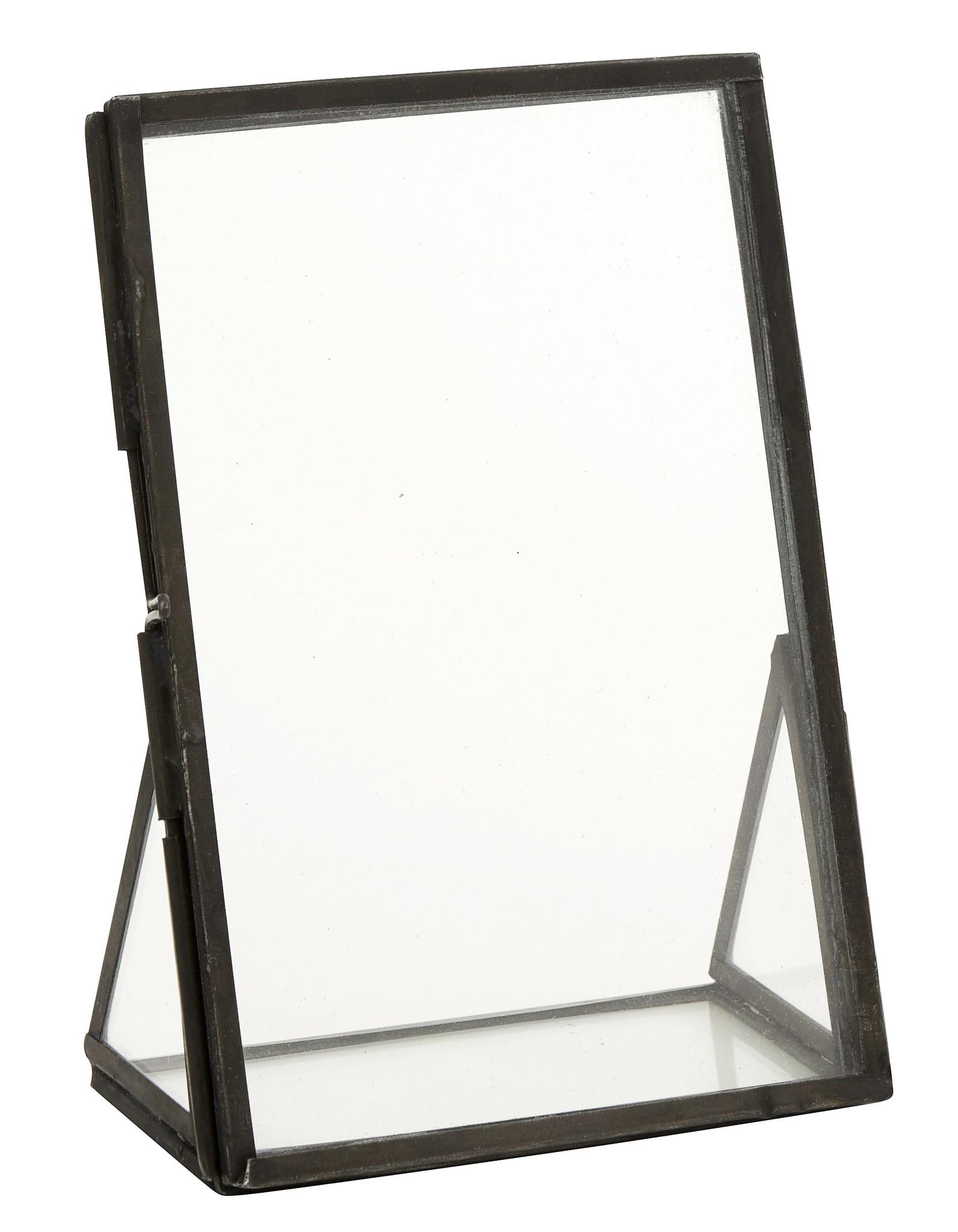 Nordal fotolijst staand, zwart 15x10