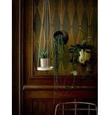 Bloomingville hanging pot, gold metal