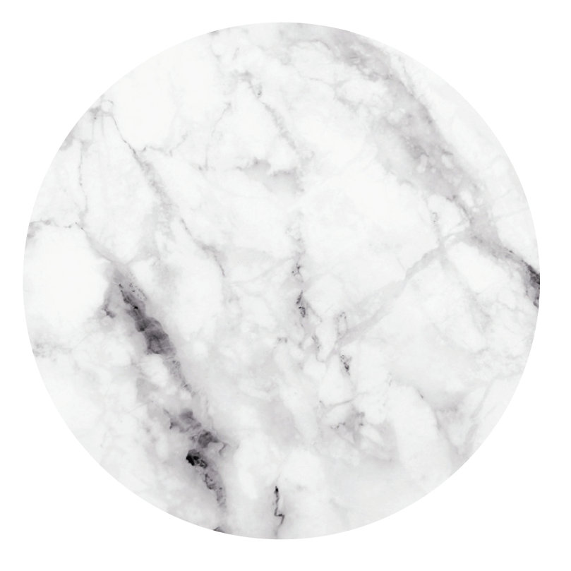 Groovy Magnets magnetic sticker, white marble