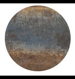 Groovy Magnets magnetic sticker, Ferro steel blue