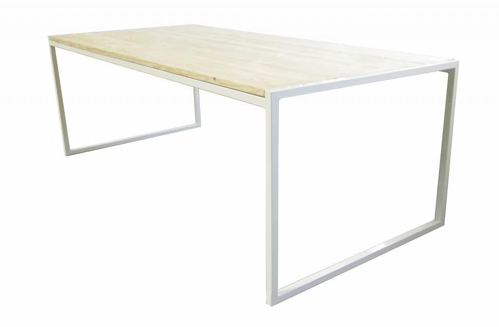 Stoer Metaal wit metalen tafel Stoer24