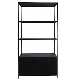 Stoer Metaal metal cabinet Mannes, black