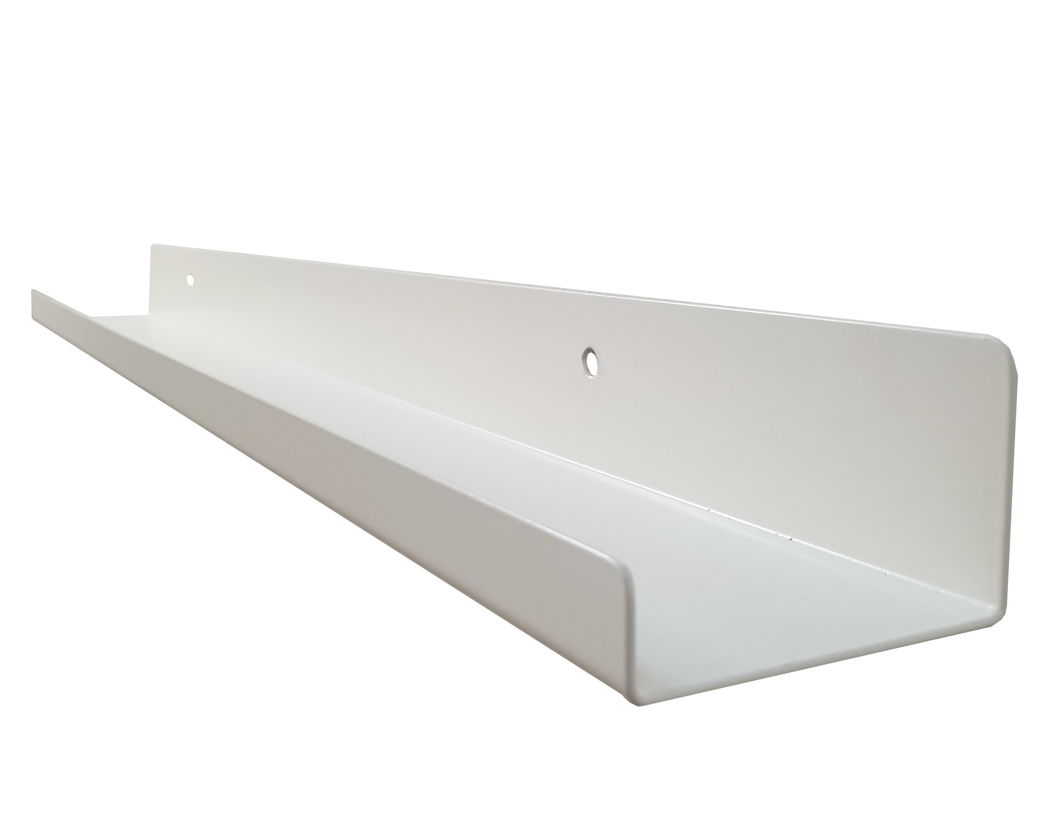 Stoer Metaal iron wall shelf, white, various sizes