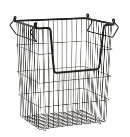 House Doctor Basket Taw, stackable, high