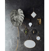 Madam Stoltz wall lamp, Monstera leaf