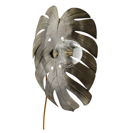 Madam Stoltz wandlamp, Monstera blad