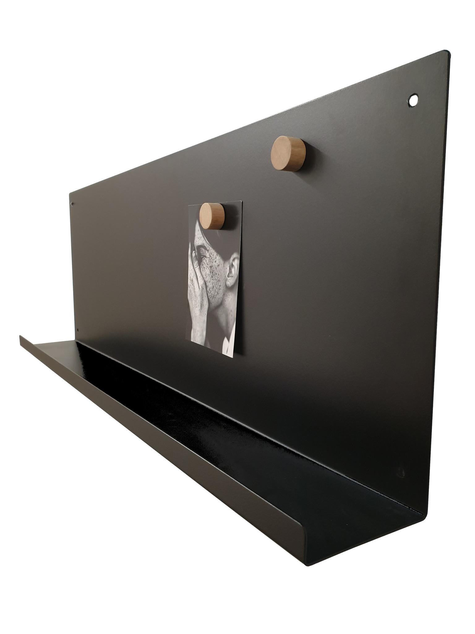 Stoer Metaal wall shelf Rug, black or white