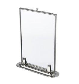 Madam Stoltz fotolijst, staand, 10x15, zilver