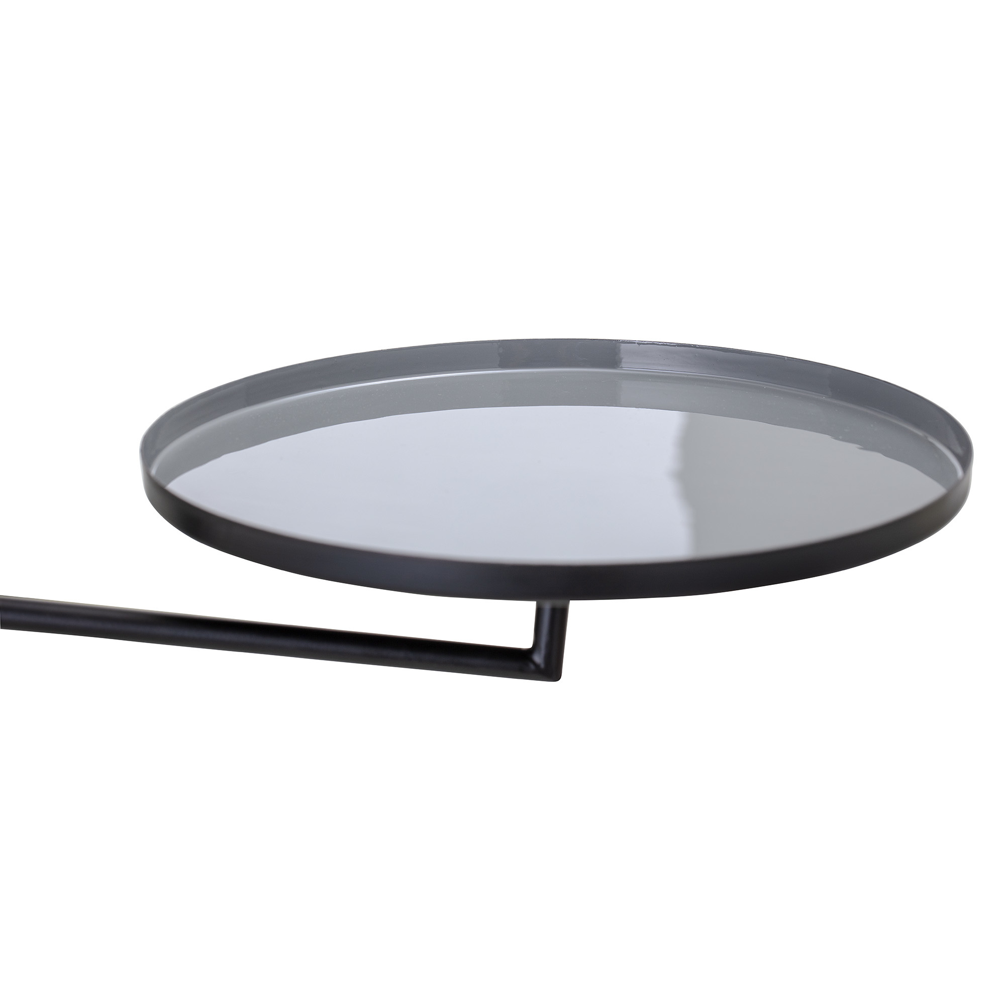 Bloomingville wall tray, black / grey