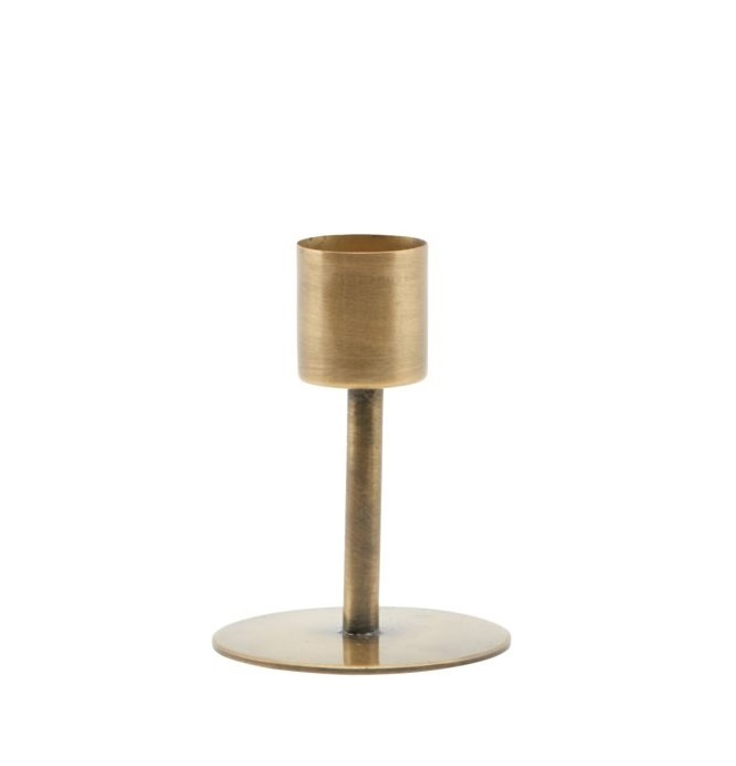House Doctor candlestick Anit, gold