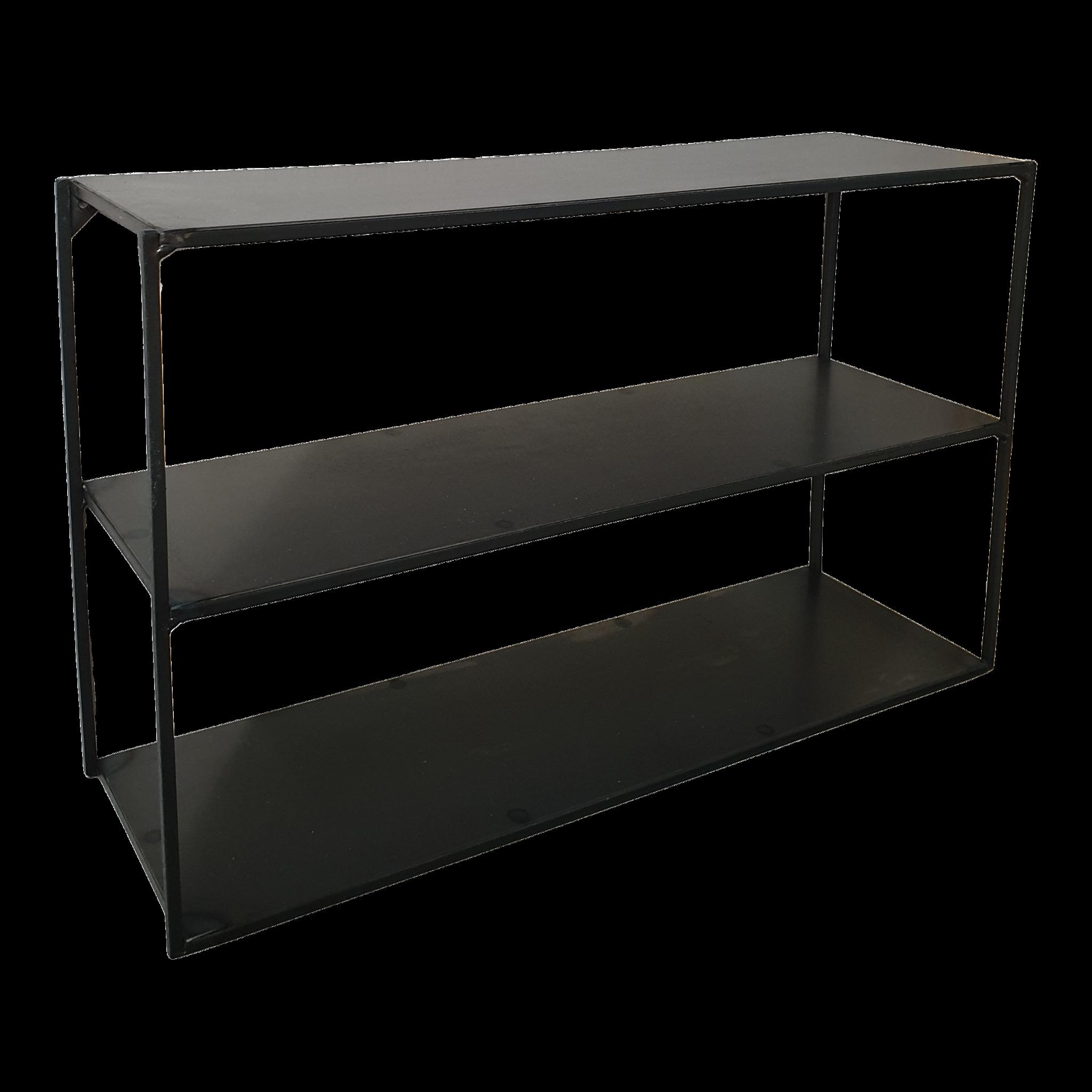 Stoer Metaal wall shelf Lowie, metal