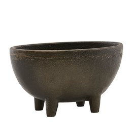 House Doctor plant pot Season, antique brown