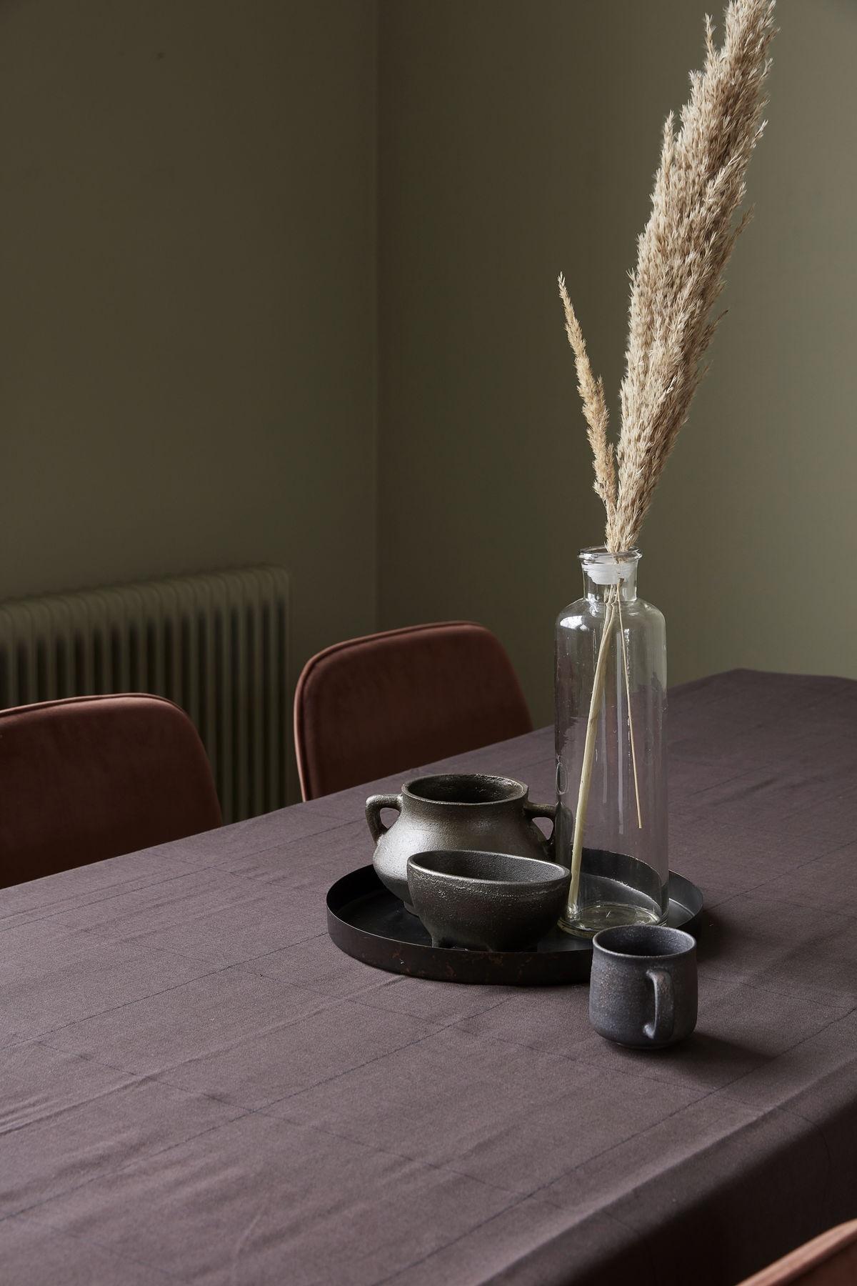House Doctor plantenpot Season met oortjes, oud bruin