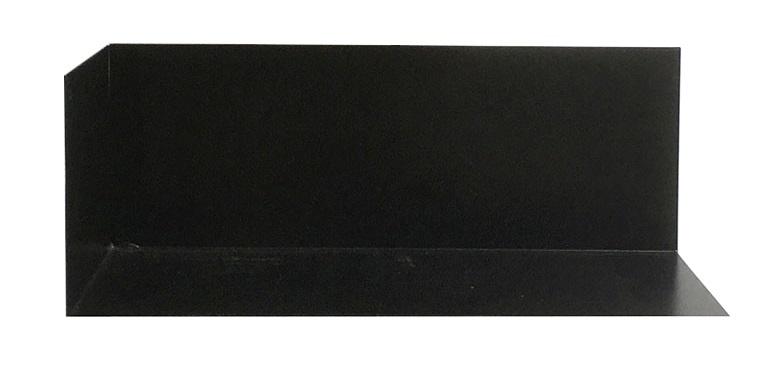 Groovy Magnets magnetisch wandplankje staal, zwart