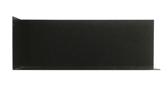 Groovy Magnets magnetic wall shelf steel, black