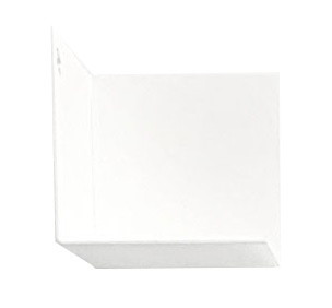 Groovy Magnets magnetic wall shelf steel, white