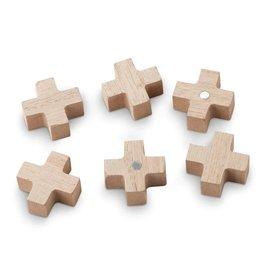 vtwonen magneten Cross, set van 6
