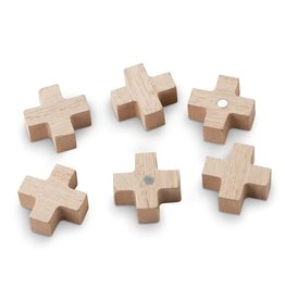 vtwonen magnets Cross, set of 6