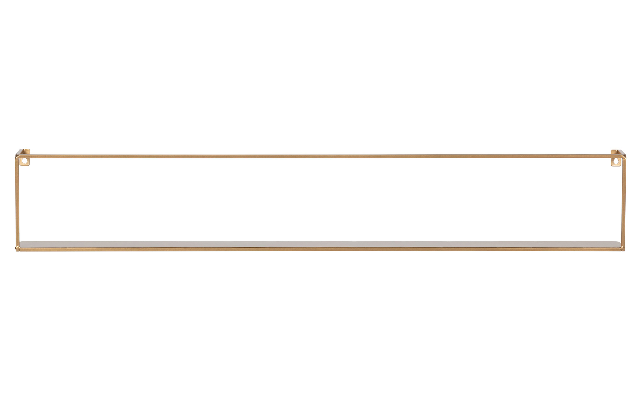 Woood wandplank Meert, goud, 50 of 100 cm