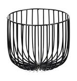Serax basket Catu high, black