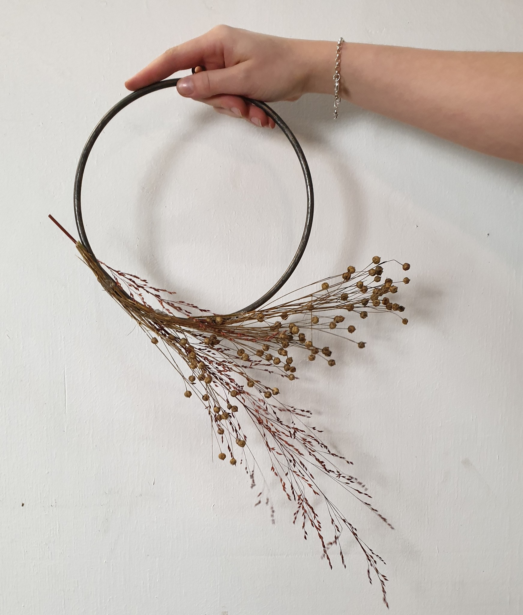Stoer Metaal ring, metaal  ⌀ 20 cm