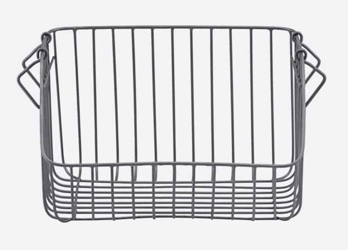 House Doctor basket Nagpur, grey