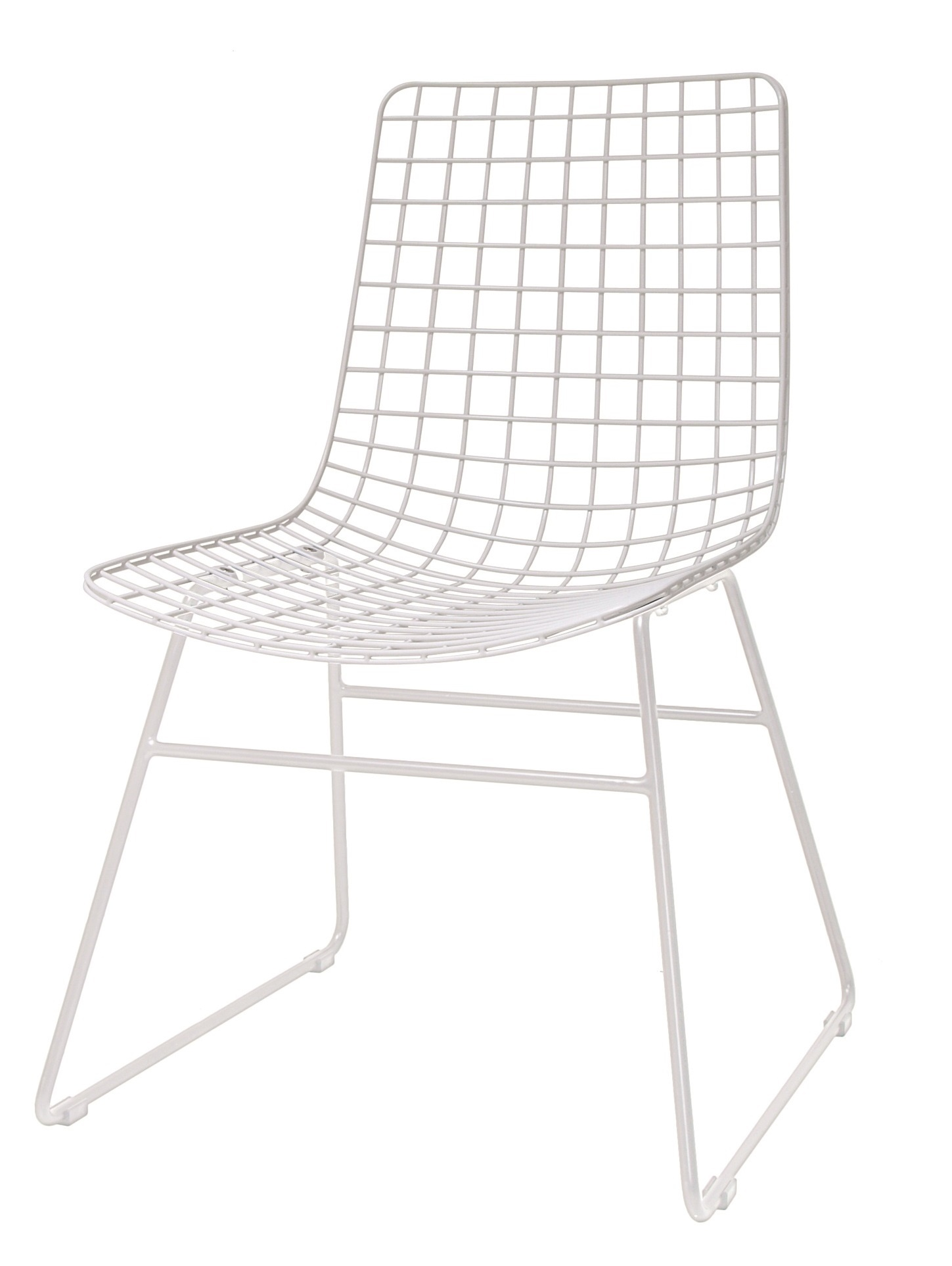 HK Living Wire chair, white