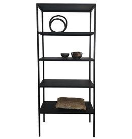 Stoer Metaal rack cabinet Tar, black