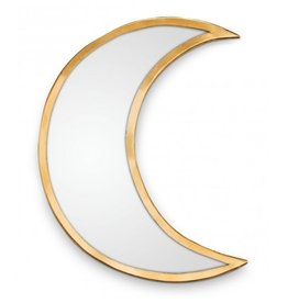 vtwonen mirror Maan, gold