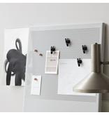 House Doctor magneet clipjes, zwart