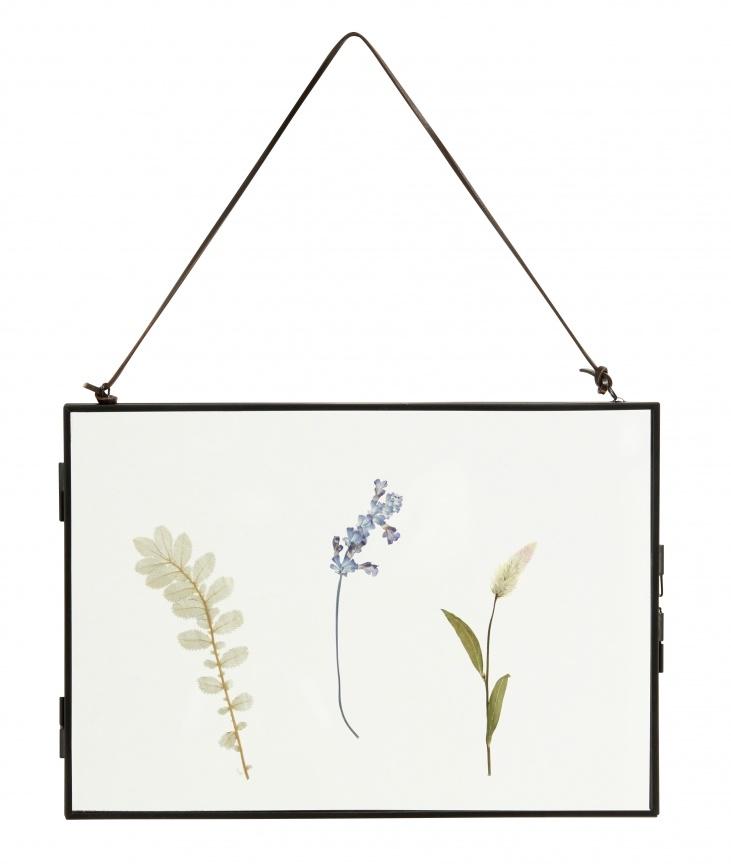 Nordal picture frame Meta, horizontal, black