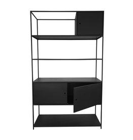Stoer Metaal cabinet Moor, black