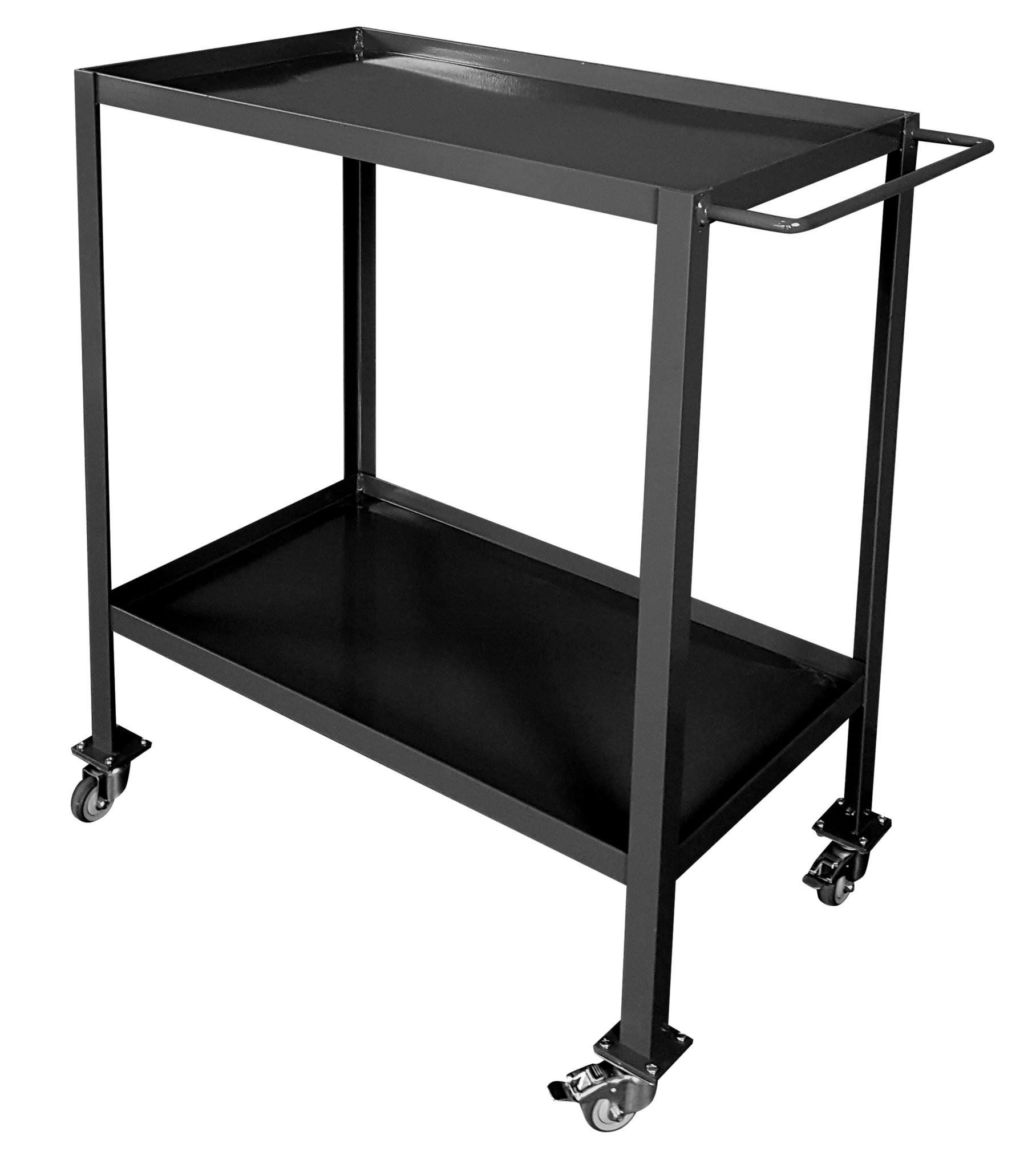 Stoer Metaal trolley, matte black