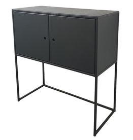 Stoer Metaal metal cabinet Mano, black