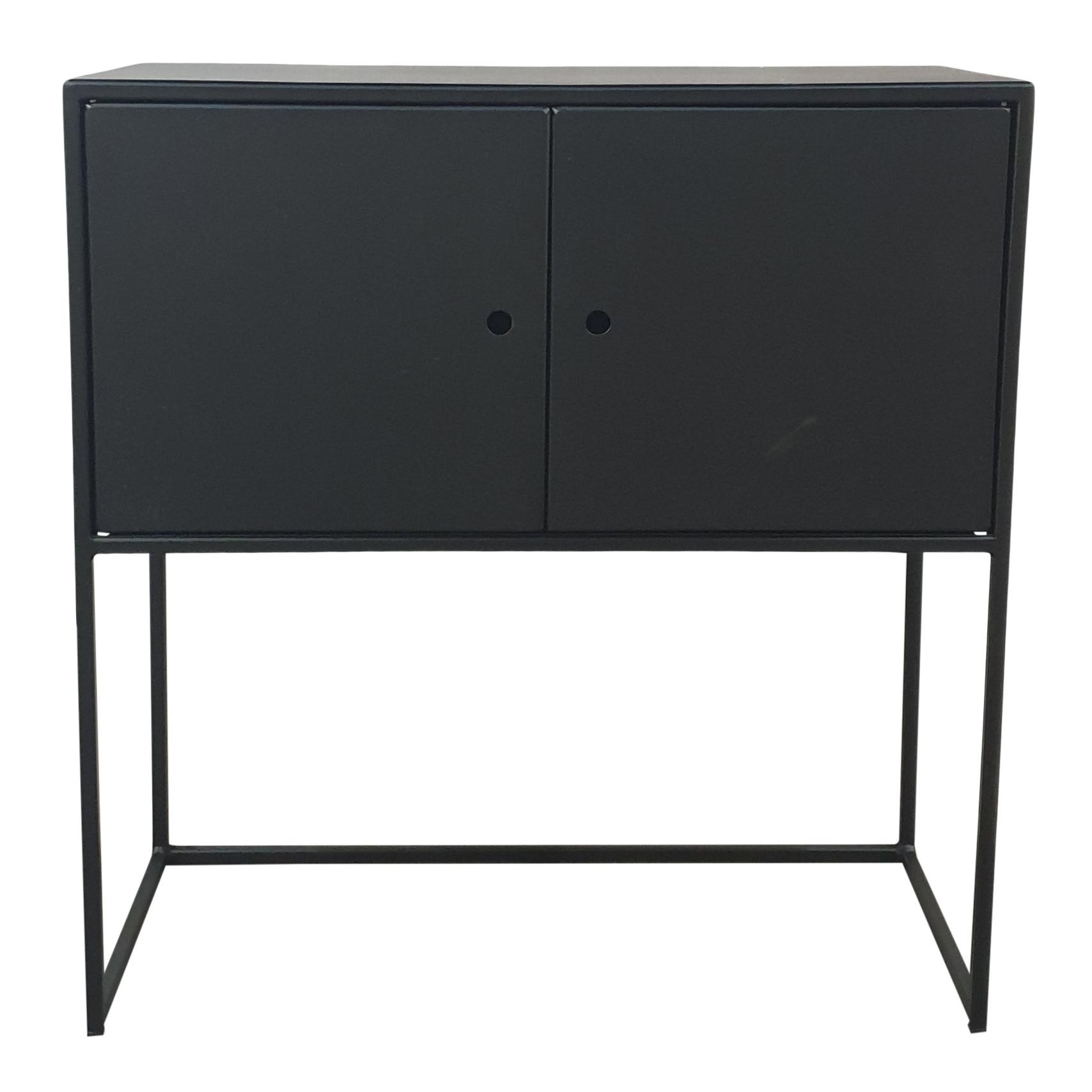 Stoer Metaal iron cabinet Mano, black