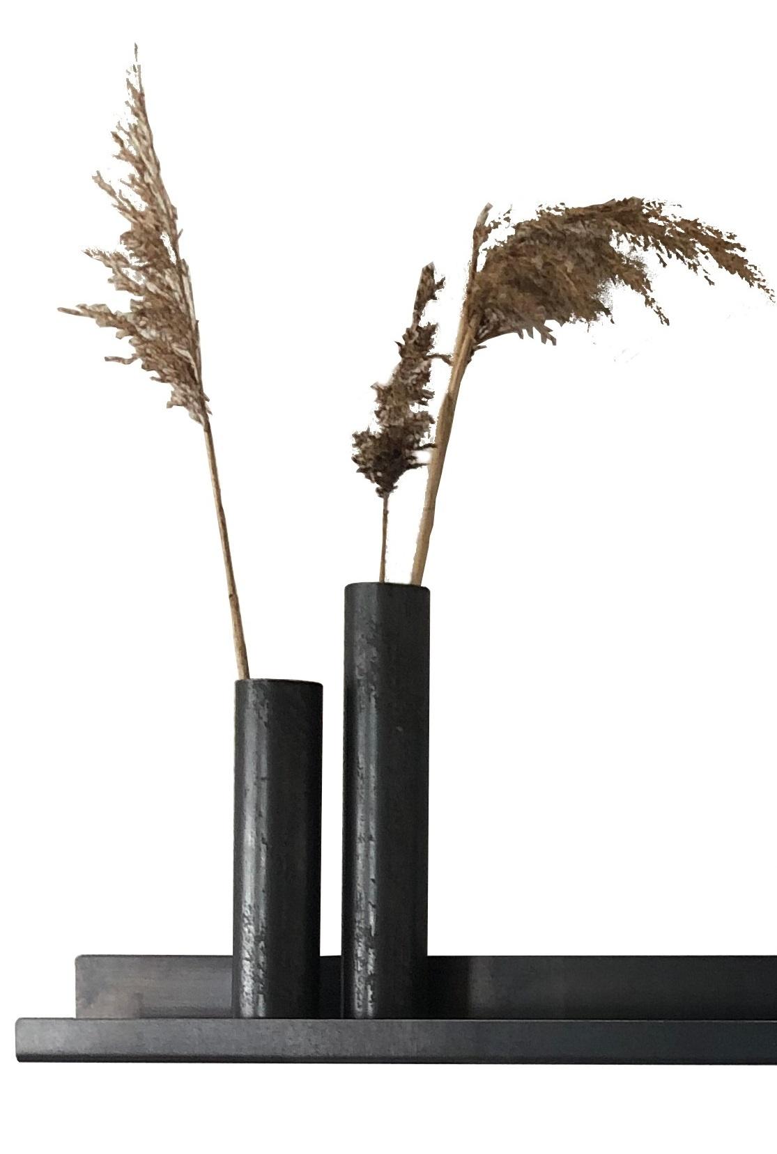 Stoer Metaal vase Ruby, metal
